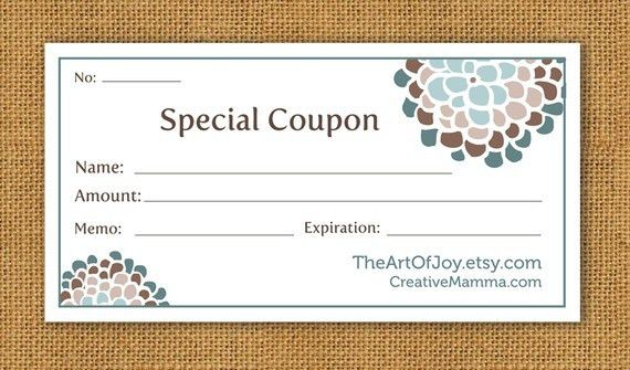 Customizable Gift Certificate – Gift Ftempo