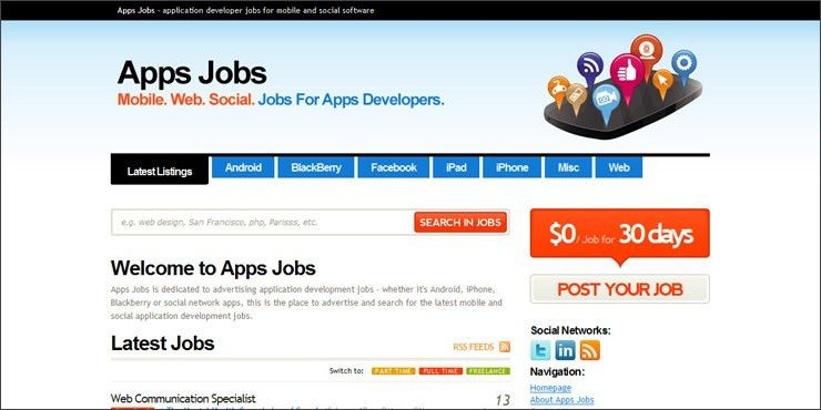 apps jobs | Best Served Cold - Web Design Bedfordshire