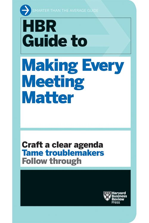 How to Design an Agenda for an Effective Meeting