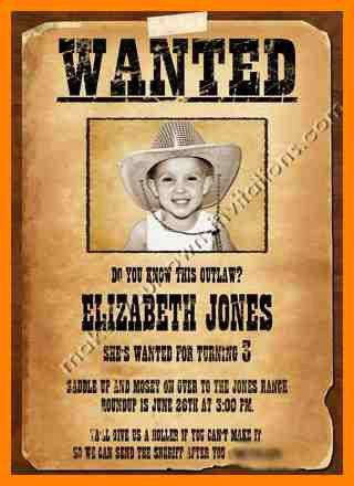 Examples Of Wanted Posters 35 [Template.billybullock.us ]