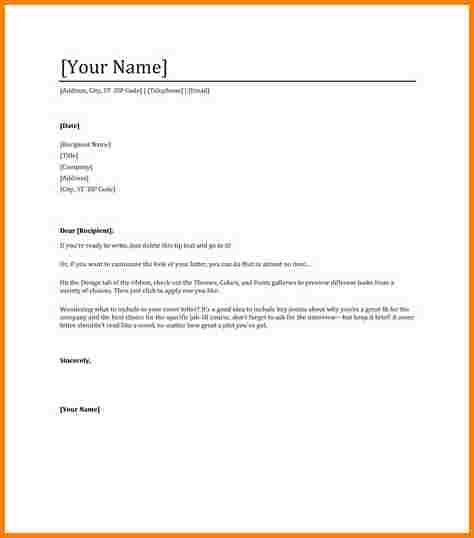 9+ professional letter format word | quote templates