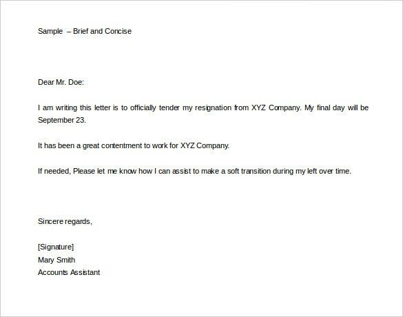 Two Weeks Notice Letter - 31+ Free Word, PDF Documents Download ...