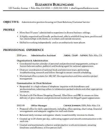 Customer Service Resume Summary | | jvwithmenow.com
