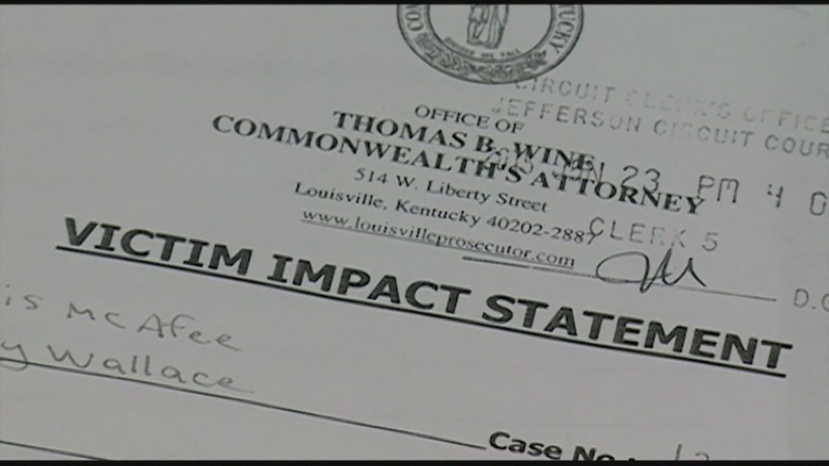 reaction to victim impact statement receives national attention