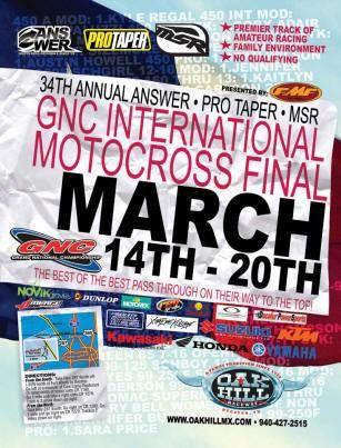 GNC INTERNATIONAL MOTOCROSS FINAL