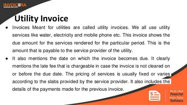 Know the 9 types of business invoices