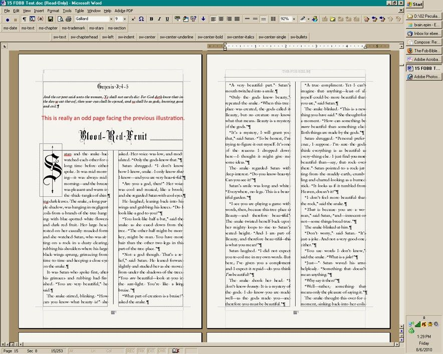 Book Design with Microsoft Word: The Art of Moriah Jovan