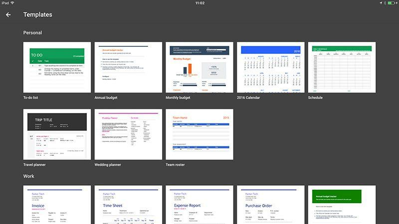 Microsoft Excel vs Apple Numbers vs Google Sheets for iOS ...
