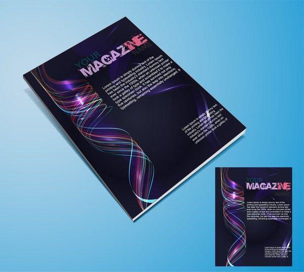Magazine cover templates Free vector in Adobe Illustrator ai ( .ai ...
