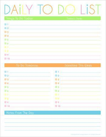 Best 25+ Time management printable ideas on Pinterest | Daily ...