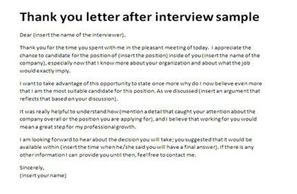 Best 25 thank you interview letter ideas on pinterest