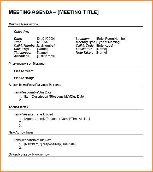 Ms Word Agenda Template.Financial Meeting Agenda.png - Loan ...
