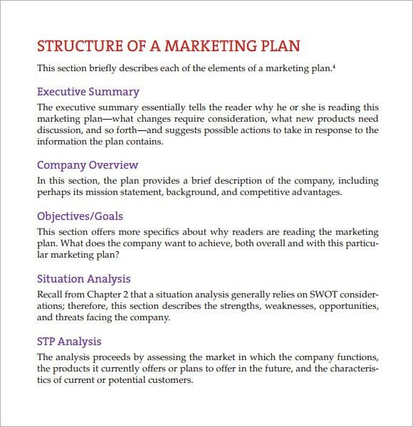 Sample Marketing Analysis - 10+Documents in PDF