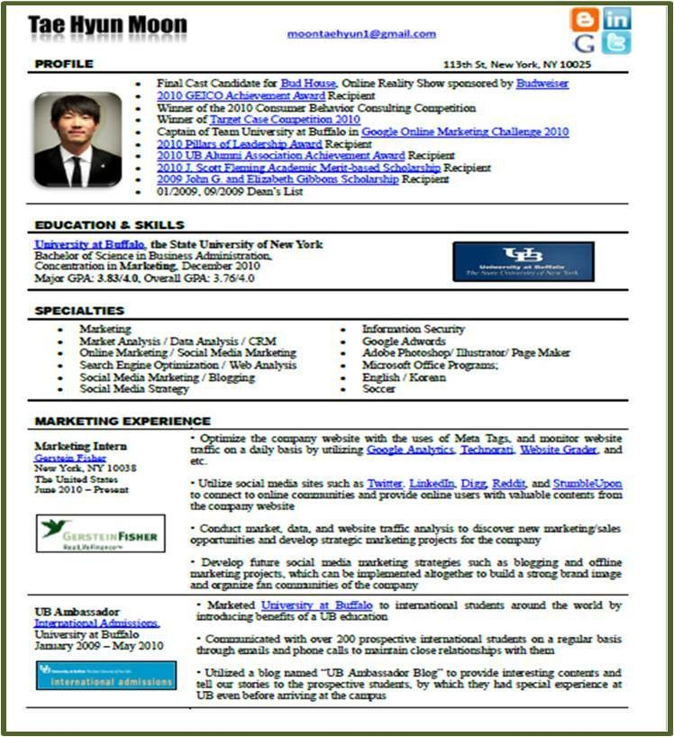 Resume Format For Google Category Updated Resume Format 2016 .