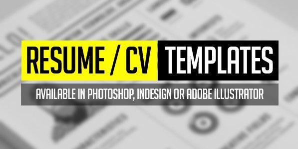 15 Free Elegant Modern CV / Resume Templates (PSD)   Freebies ...