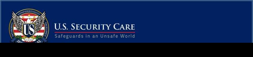 Unarmed Asset Protection Agent - U.S. Security Care, Inc.