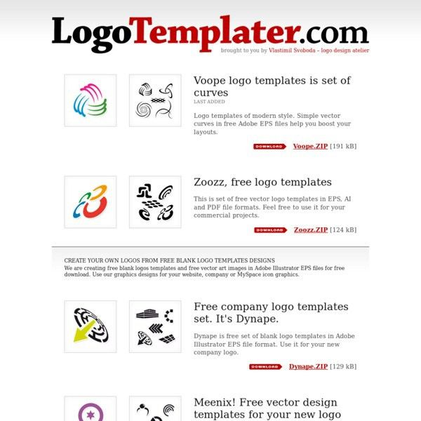 LogoTemplater.com - We create free blank logos templates designs ...