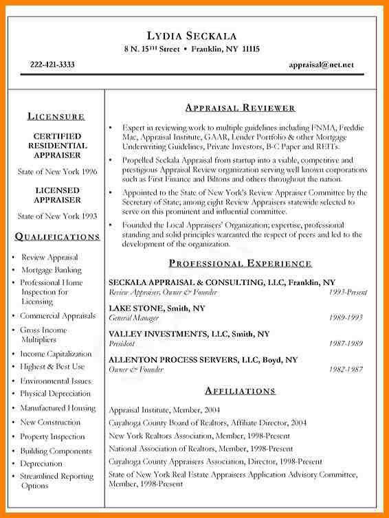 Real Estate Resume Samples - Ecordura.com