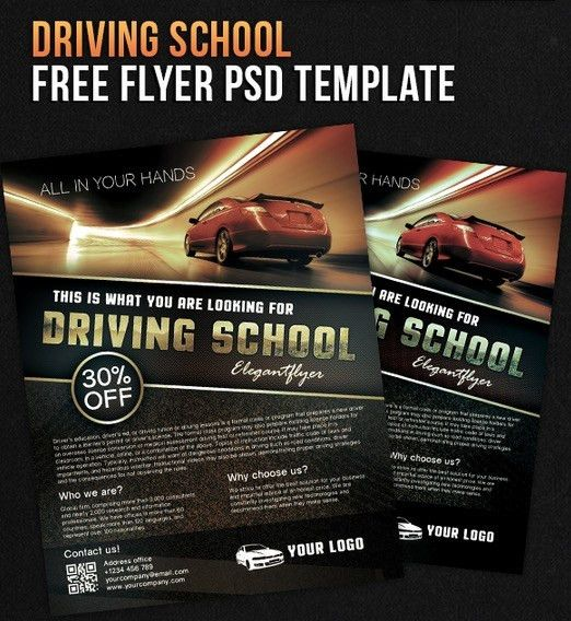 122 Free PSD Flyer Templates to make use of Offline Marketing ...