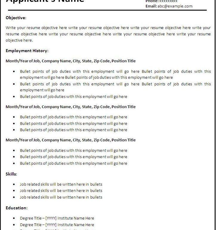 google resume builder free google resume builder sample resume ...