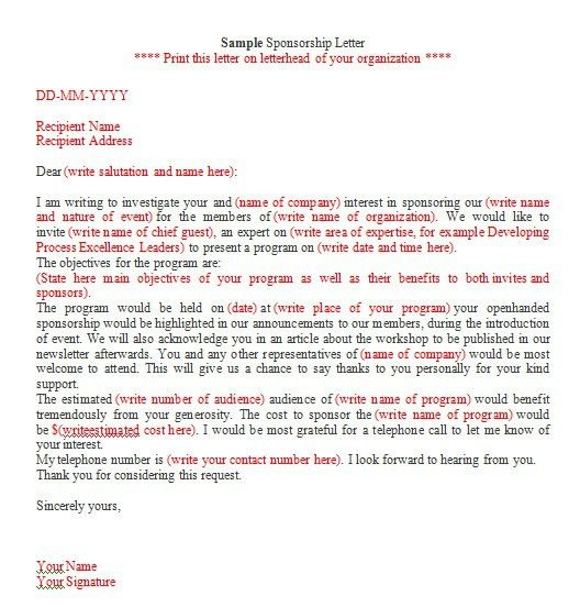 Sample Letters Archives - Page 12 of 12 - Sample Letter