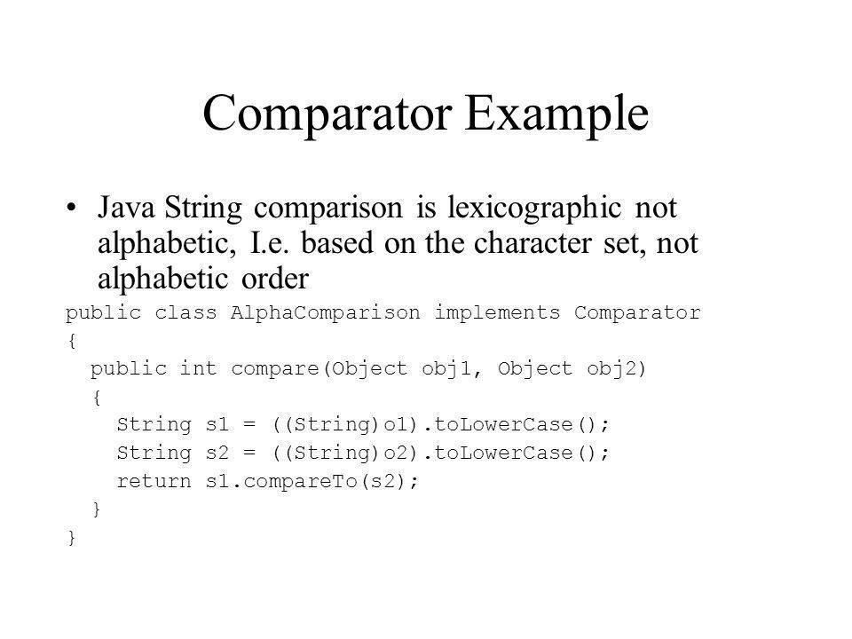 Introduction to Java 2 Programming Lecture 5 The Collections API ...