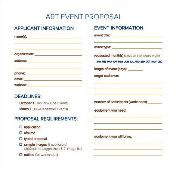 Amazing Free Event Proposal Template Pictures   Best Resume .