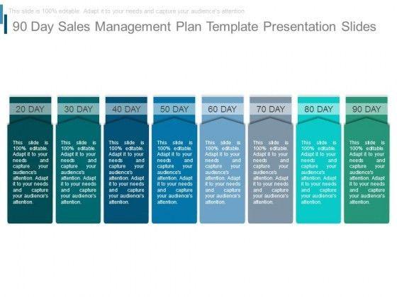 90 Day Sales Management Plan Template Presentation Slides ...