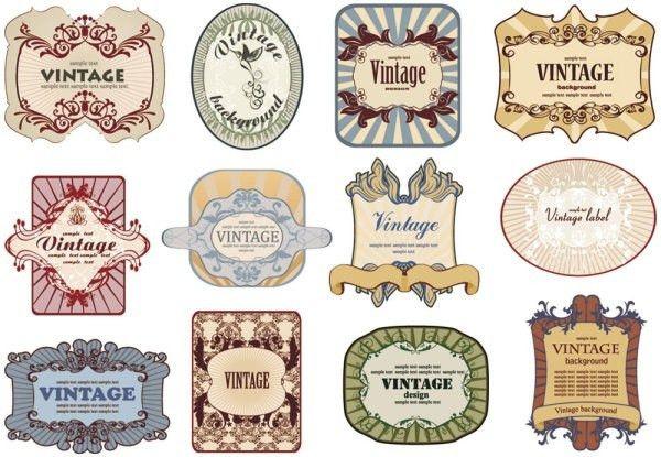 Bottle label vectors free vector download (8,753 Free vector) for ...