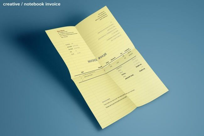 LAST DAY: 30+ Creative Auto-Calculating Invoice Templates - only ...