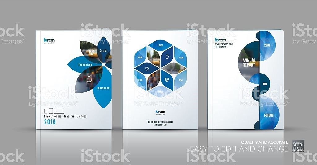 Brochure Template Layout Collection Cover Design Annual Report ...