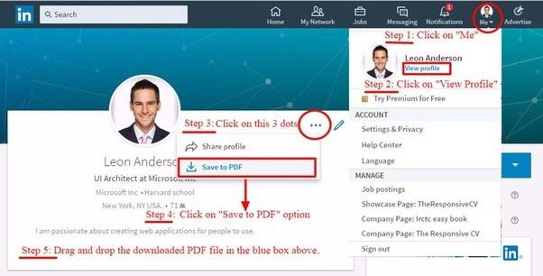 How to download my resume from LinkedIn...(2017) - Quora