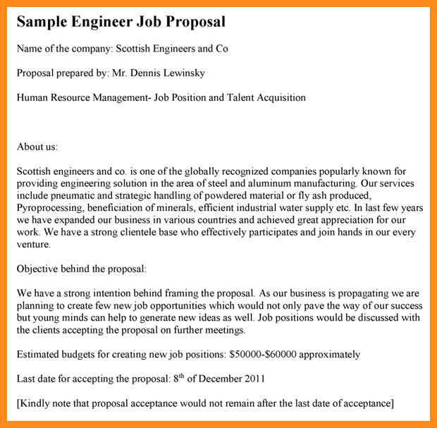 Thesis proposal sample engineering
