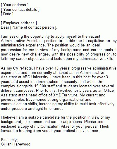 Cover letter examples for entry level it position