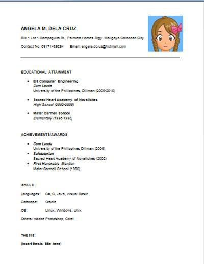 easy resume examples examples of resumes resume examples basic ...