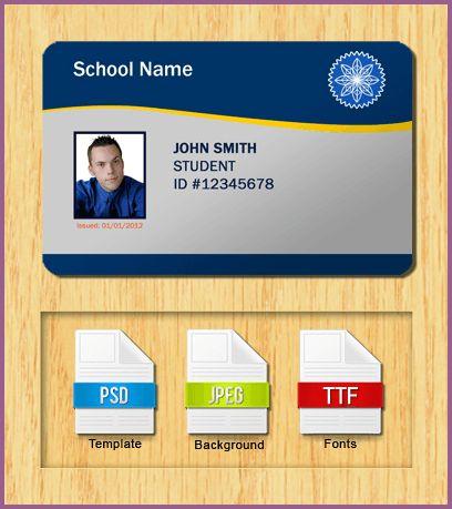 ID CARD TEMPLATE | designproposalexample.com