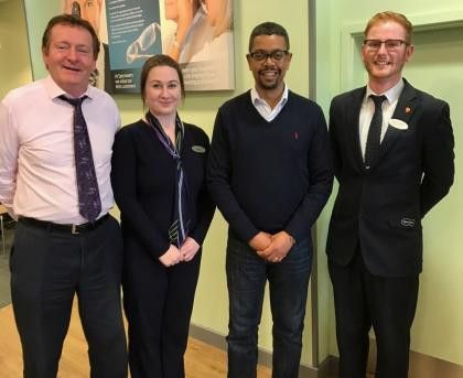 Welsh Health Secretary Visits Local Store   News   Specsavers UK