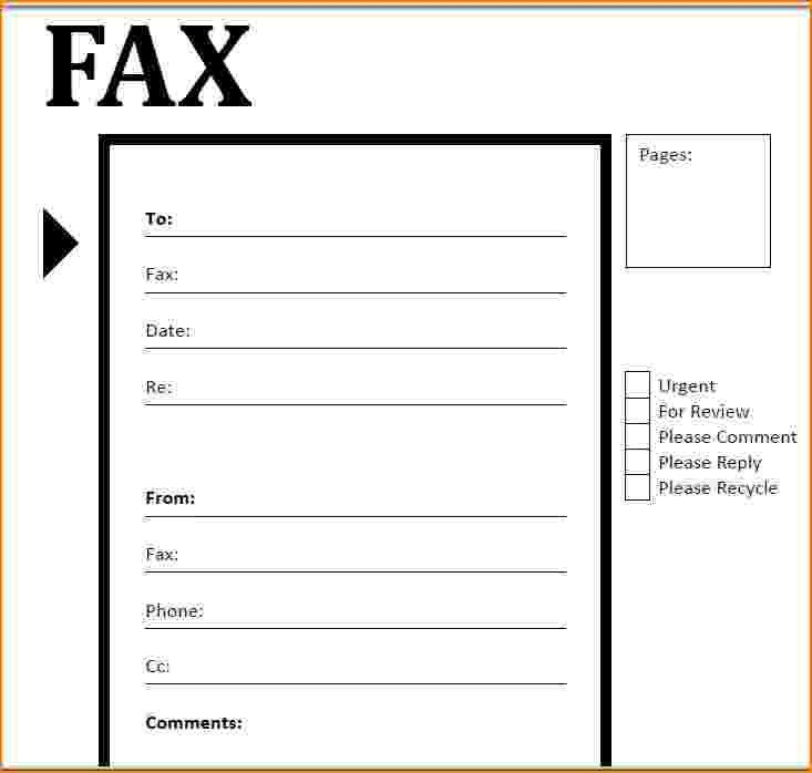 8+ fax cover sheet doc | bibliography format