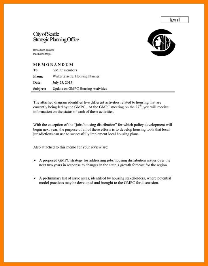 7+ sample business memo | coaching-resume