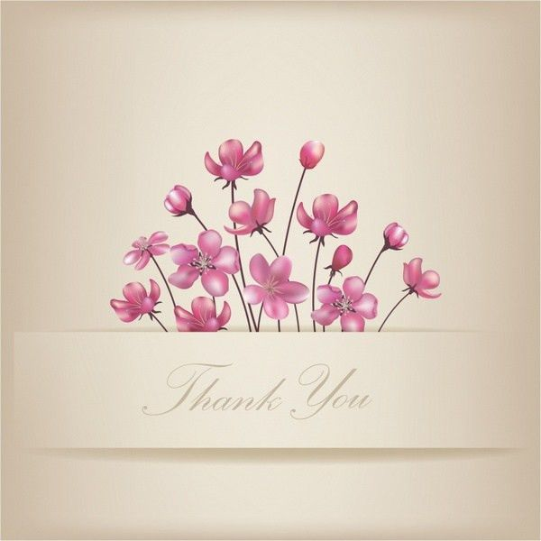 Free thank you card template free vector download (91,992 Free ...
