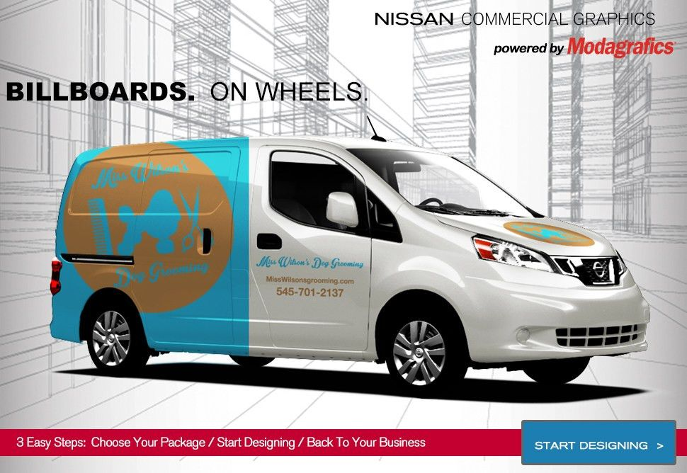 Wrap Your NV Cargo Van In Your Own Style | Nissan Commercial Vehicles