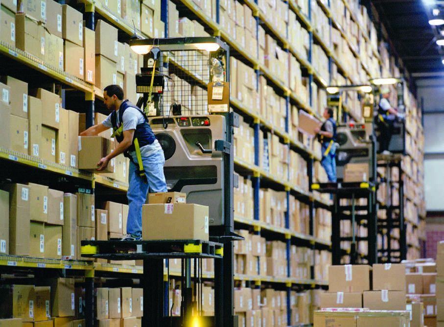 What are Stock Pickers   materials handling definition