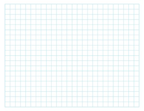Printable Centimeter Grid Paper - Math Templates