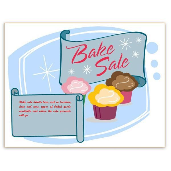 Free bake sale signs and labels - goodtoknow - Clip Art Library