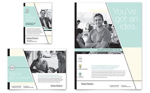 Investment & Wealth Management | Print Ad Templates | Financial ...