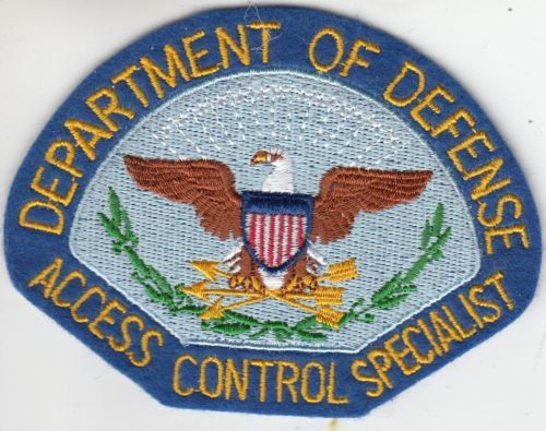 DEPARTMENT-OF-DEFENSE-ACCESS-CONTROL-SPECIALIST-FELT-POLICE-PATCH ...
