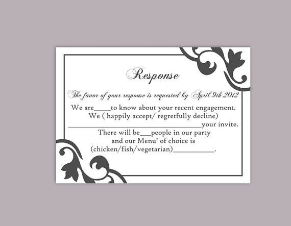 free printable rsvp card template