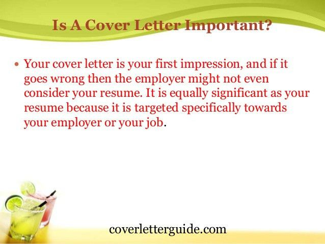 cover letter dos donts. cover letter necessary cover letter ...