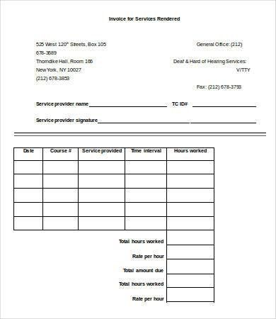 Blank Receipt Template - 7+ Free Sample, Example, Format | Free ...