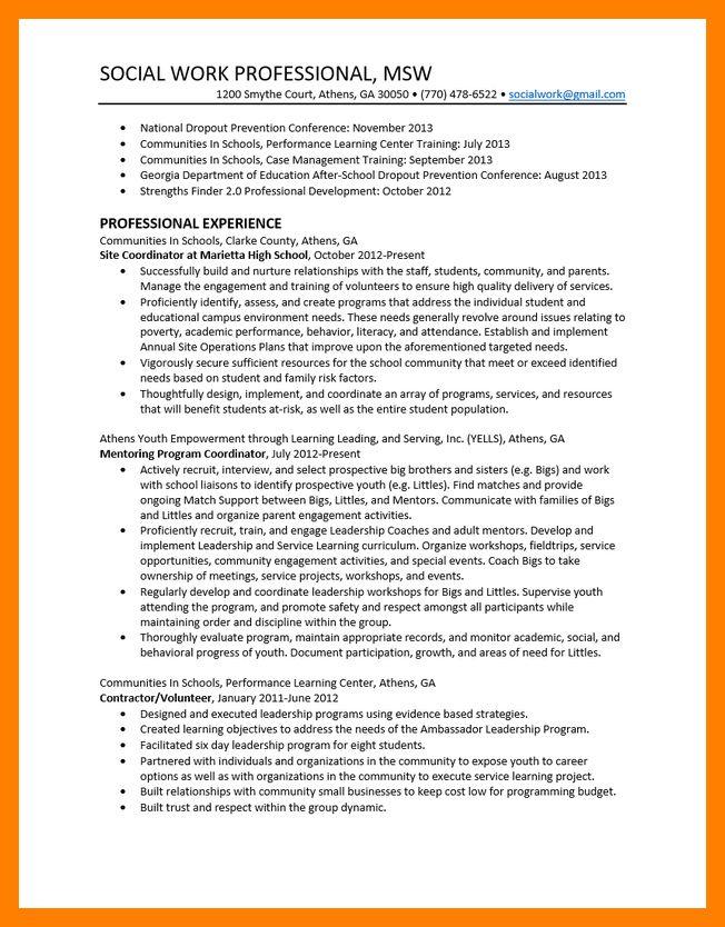 4+ social work resume samples | janitor resume
